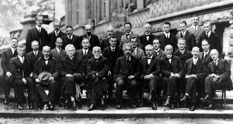 Solvay Conference, 1927 B&W