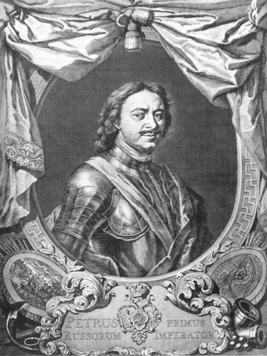 Peter the Great by Carl Moor (1717)
